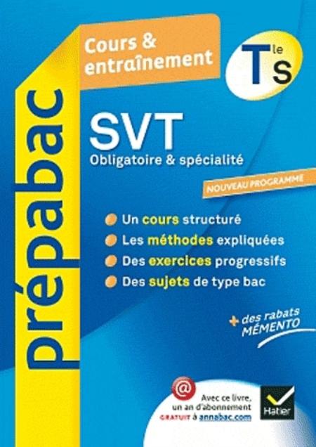 SVT TLE S SPECIFIQUE & SPECIALITE - PREPABAC COURS & ENTRAINEMENT BERGERON JACQUES HATIER JEUNESSE