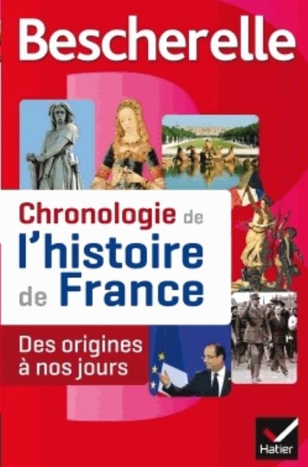 BESCHERELLE CHRONOLOGIE DE L'HISTOIRE DE FRANCE BOUREL GUILLAUME Hatier