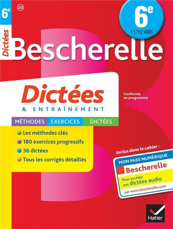 BESCHERELLE DICTEES 6E