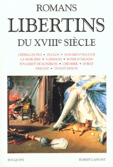 ROMANS LIBERTINS DU XVIIIE SIECLE COLLECTIF ROBERT LAFFONT