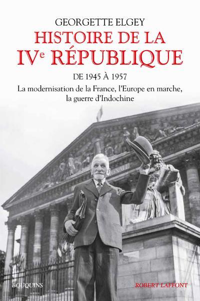 HISTOIRE DE LA IVE REPUBLIQUE - TOME 1 - 01  ROBERT LAFFONT