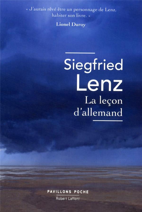LA LECON D'ALLEMAND - PAVILLONS POCHE - NE