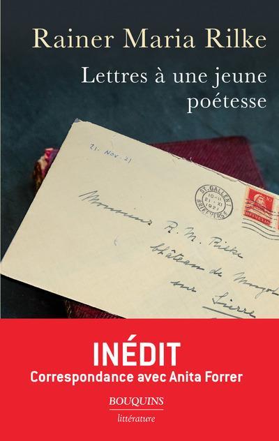 LETTRES A UNE JEUNE POETESSE RILKE, RAINER MARIA ROBERT LAFFONT