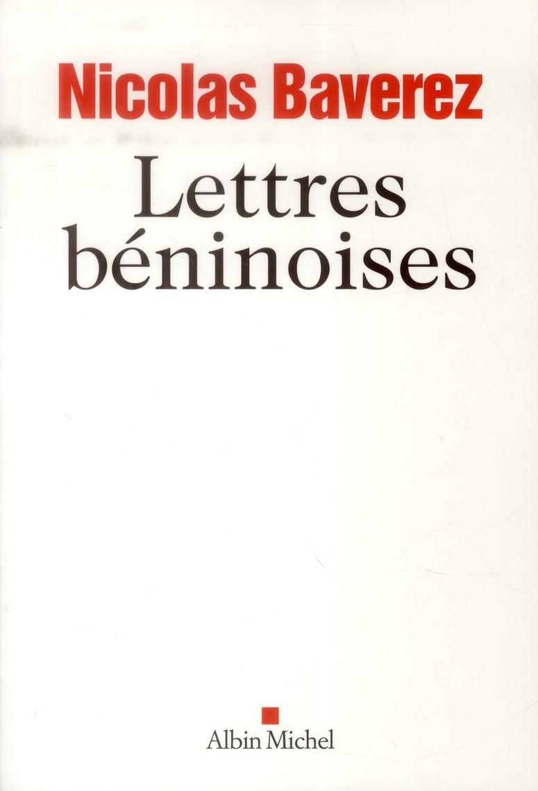 LETTRES BENINOISES