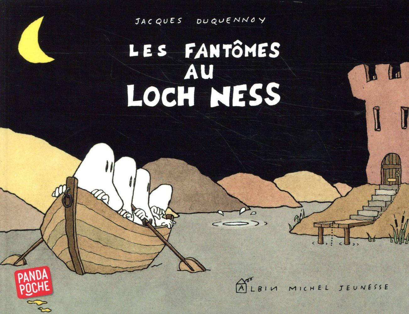 LES FANTOMES AU LOCH-NESS  ALBIN MICHEL