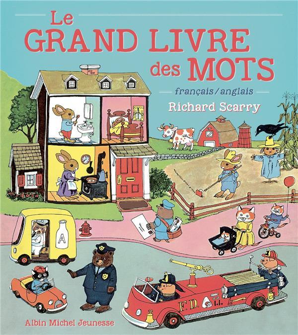 LE GRAND LIVRE DES MOTS  -  FRANCAIS  ANGLAIS