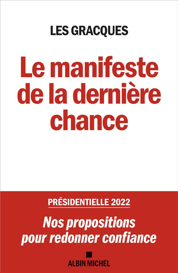 LE MANIFESTE DE LA DERNIERE CH XXX ALBIN MICHEL