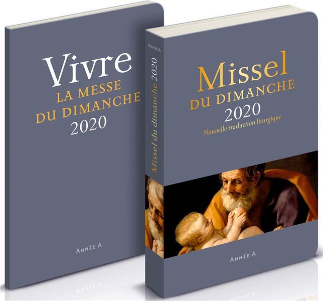 MISSEL DU DIMANCHE  -  AVEC SUPPLEMENT (EDITION 2020)