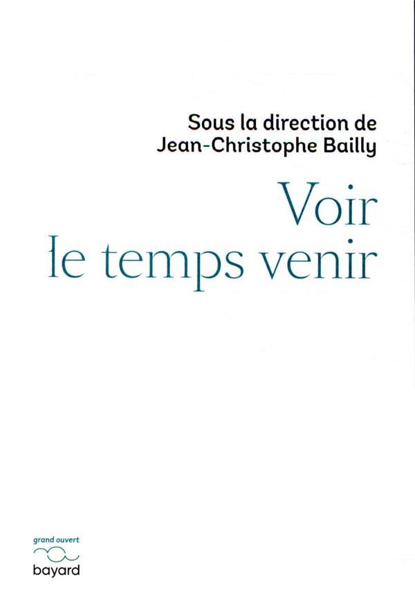 VOIR LE TEMPS VENIR BAILLY, JEAN-CHRISTOPHE  BAYARD CULTURE