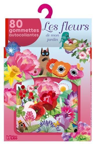 GOMMETTES FLEURS DE MON JARDIN
