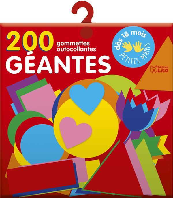 200 GOMMETTES GEANTES POUR LES TOUT-PETITS COLLECTIF NC