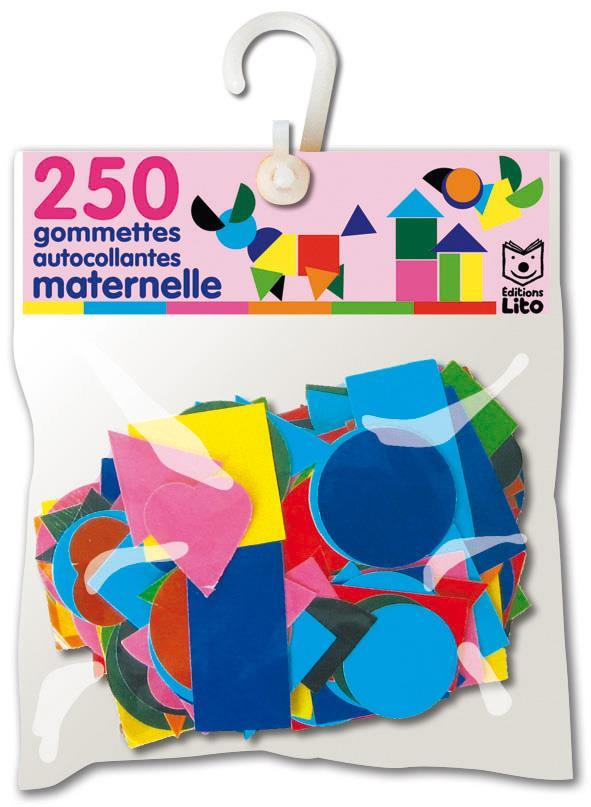 250 GOMMETTES AUTOCOLLANTES MATERNELLE XXX LITO