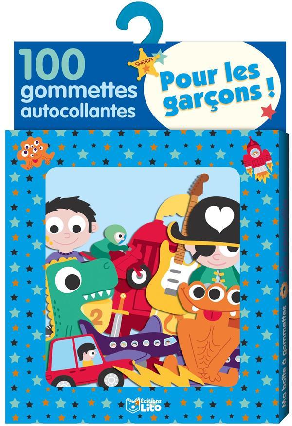 XXX - 100 GOMMETTES AUTOCOLLANTES POUR LES GARCONS