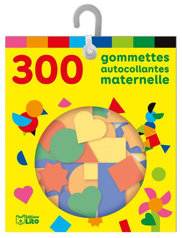 300 GOMMETTES AUTOCOLLANTES  -  MATERNELLE XXX NC