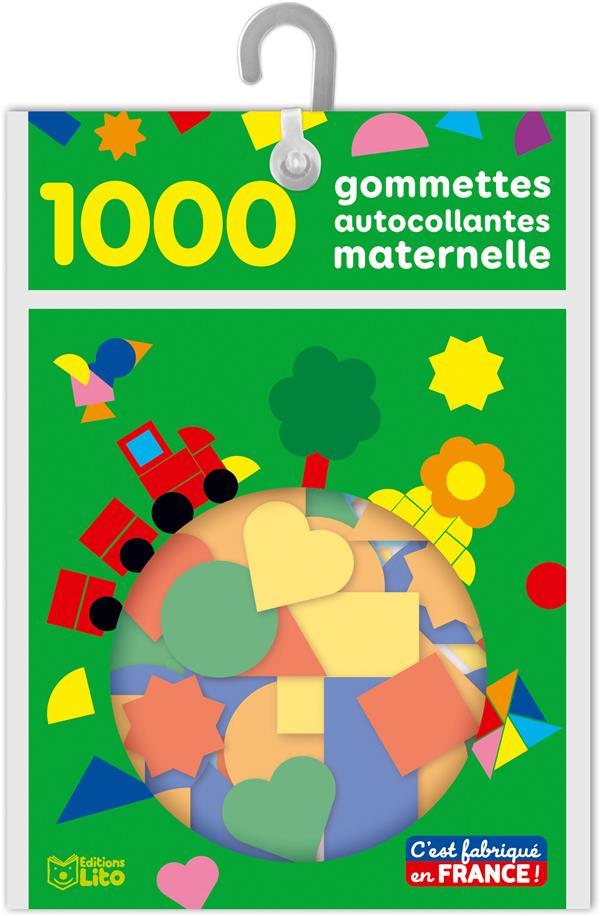 1000 GOMMETTES AUTOCOLLANTES MATERNELLE XXX NC