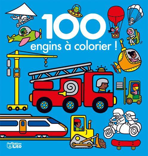 XXX - 100 IMAGES A COLORIER ENGINS