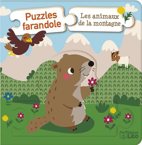 PUZZLES FARANDOLE ANI.MONTAGNE XXX LITO
