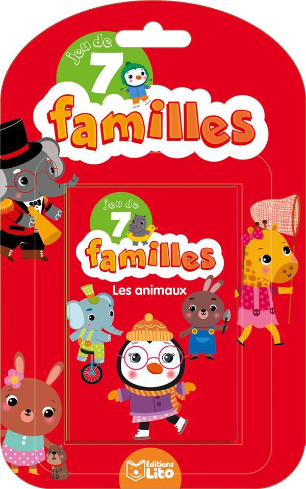 Baretti Sonia - JEUX 7 FAMILLES LES ANIMAUX