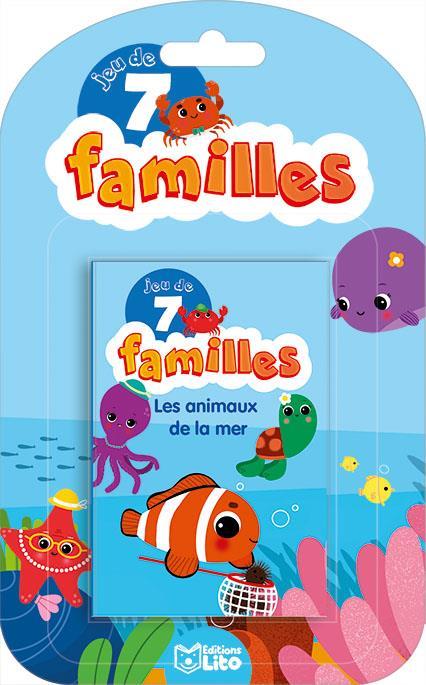 Baretti Sonia - JEUX 7 FAMILLES ANIMAUX MER