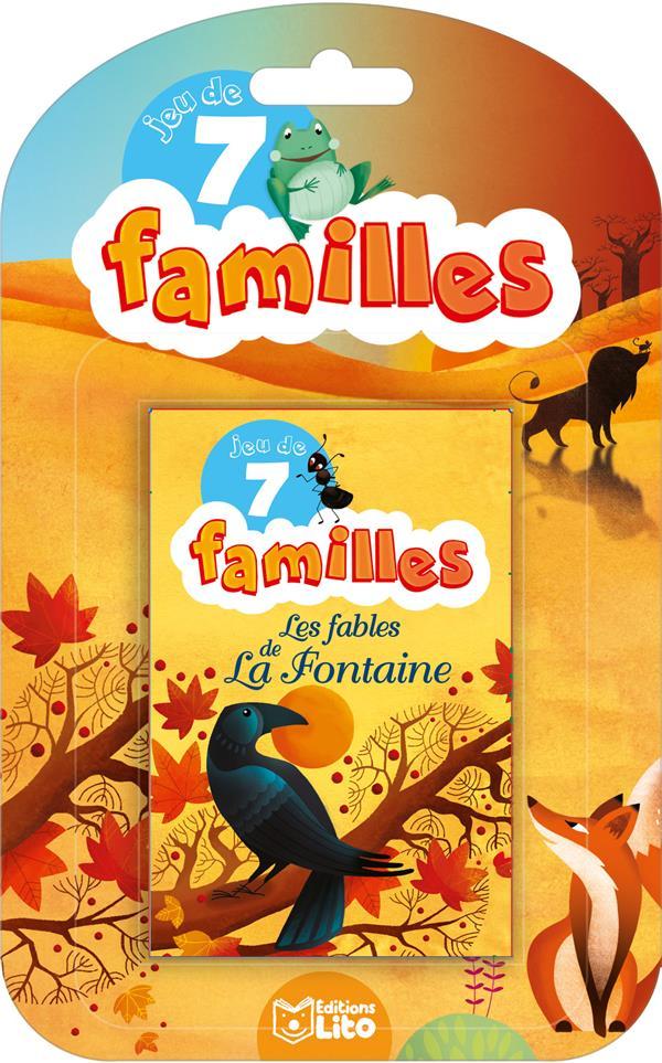 XXX - JEUX 7 FAMILLES FABLES FONTAIN