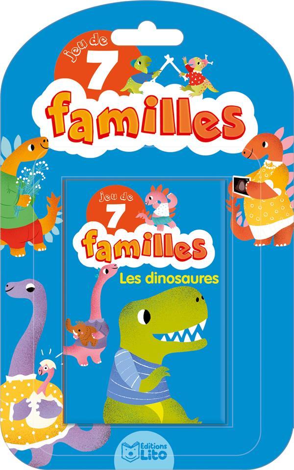 XXX - JEUX 7 FAMILLES LES DINOSAURES