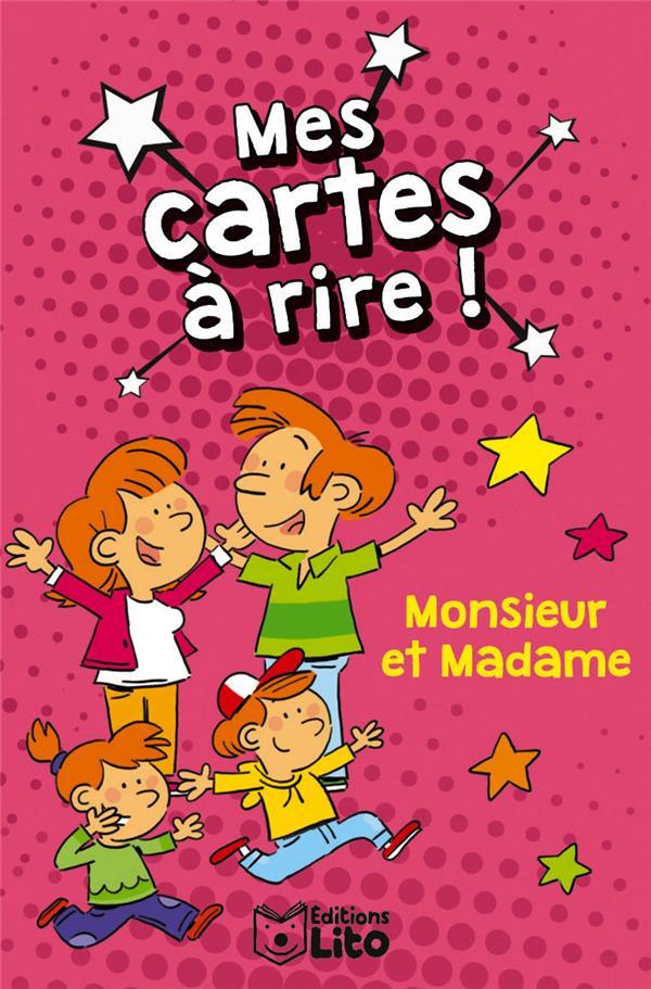 MES CARTES A RIRE !  -  MONSIEUR ET MADAME XXX LITO