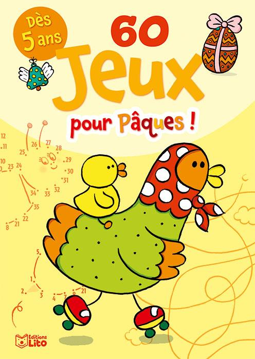 Guichard Clémentine - 60 JEUX POUR PAQUES