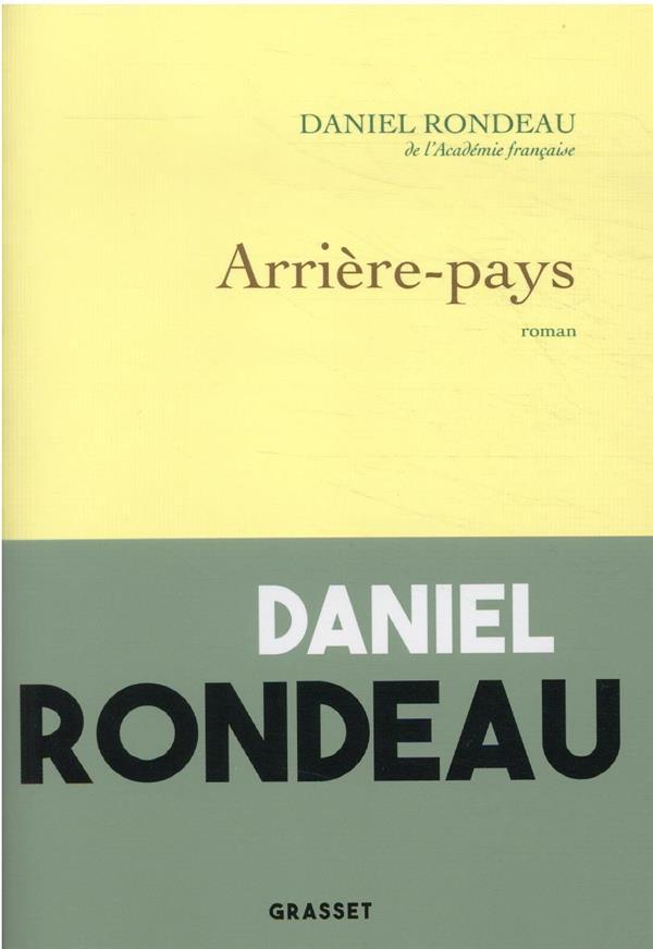 ARRIERE-PAYS RONDEAU, DANIEL NC