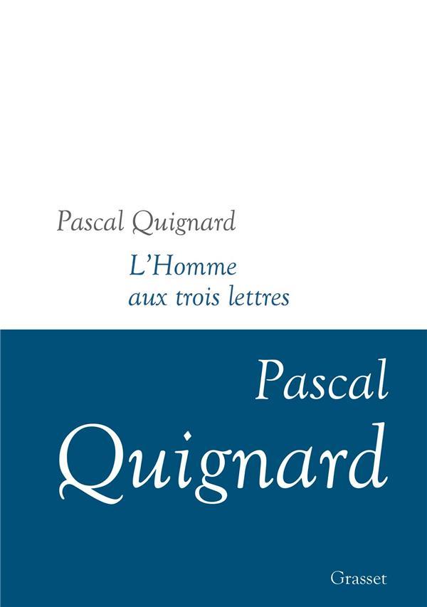 DERNIER ROYAUME T.11  -  L'HOMME AUX TROIS LETTRES