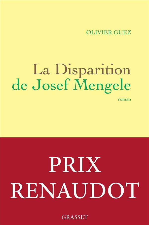 DISPARITION DE JOSEF MENGELE (LA)