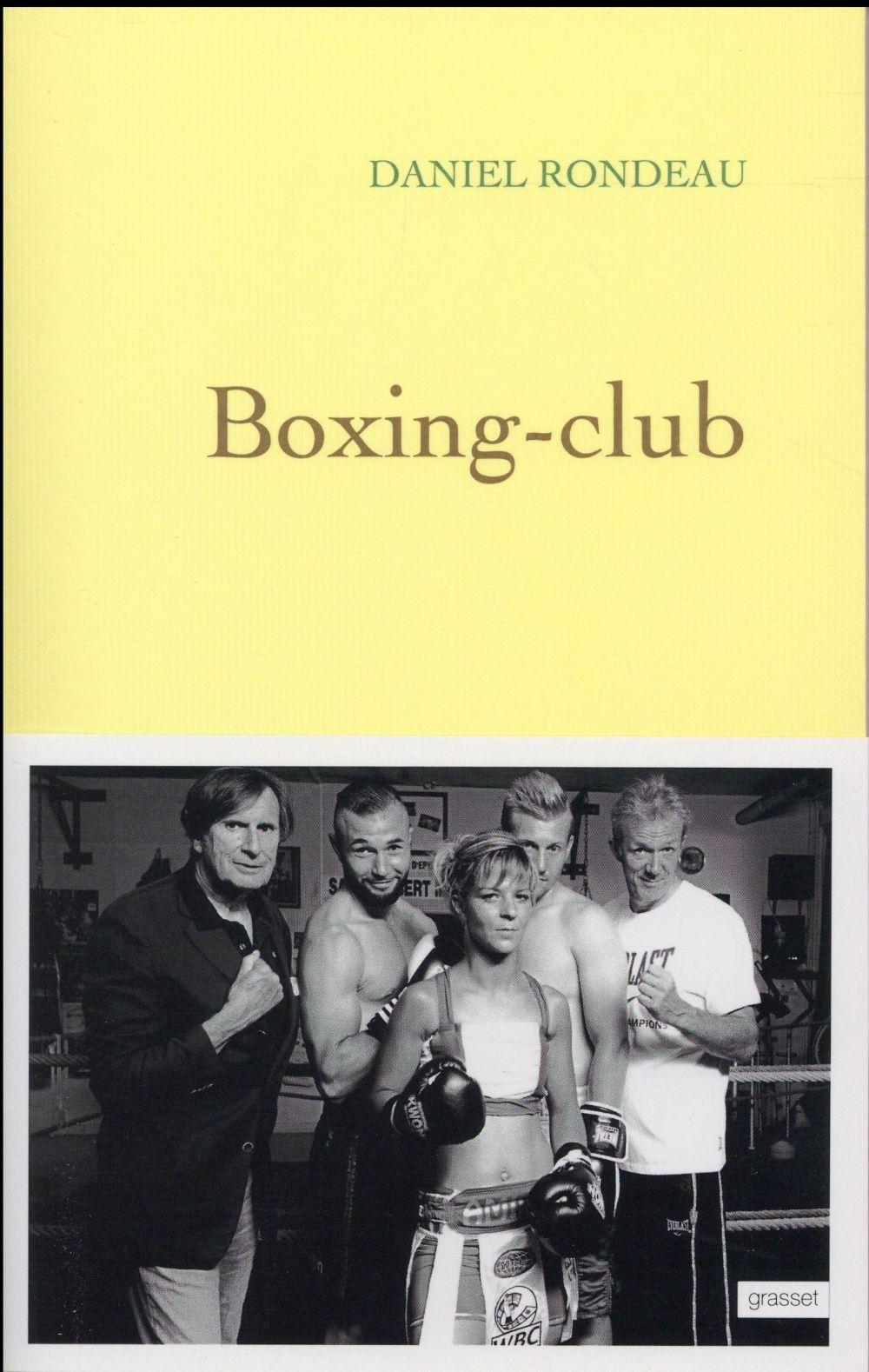 BOXING-CLUB Rondeau Daniel Grasset