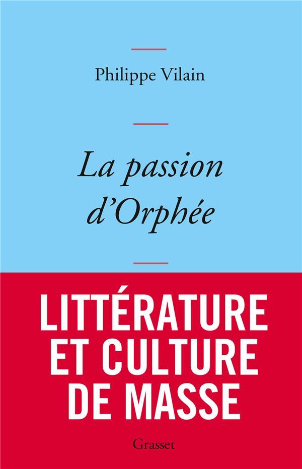 LA PASSION D'ORPHEE