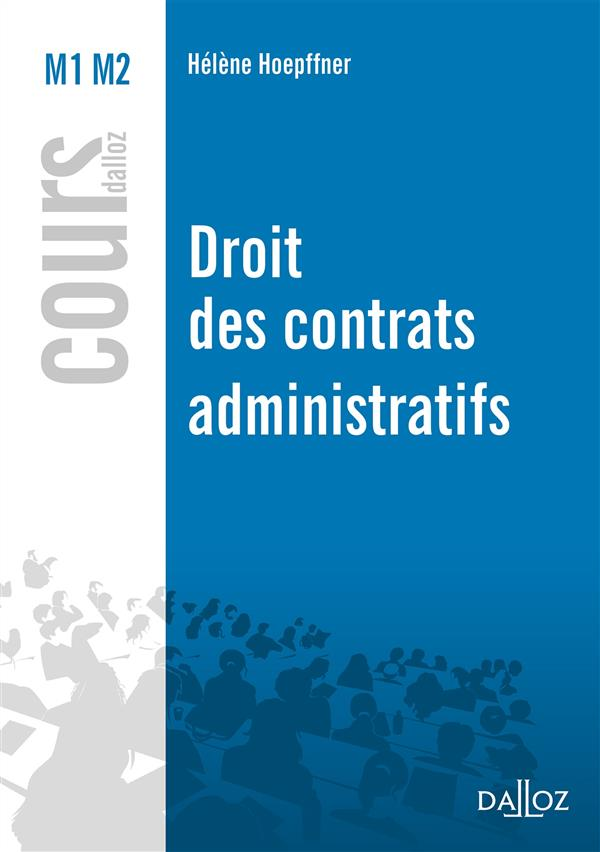 DROIT DES CONTRATS ADMINISTRATIFS   NOUVEAUTE