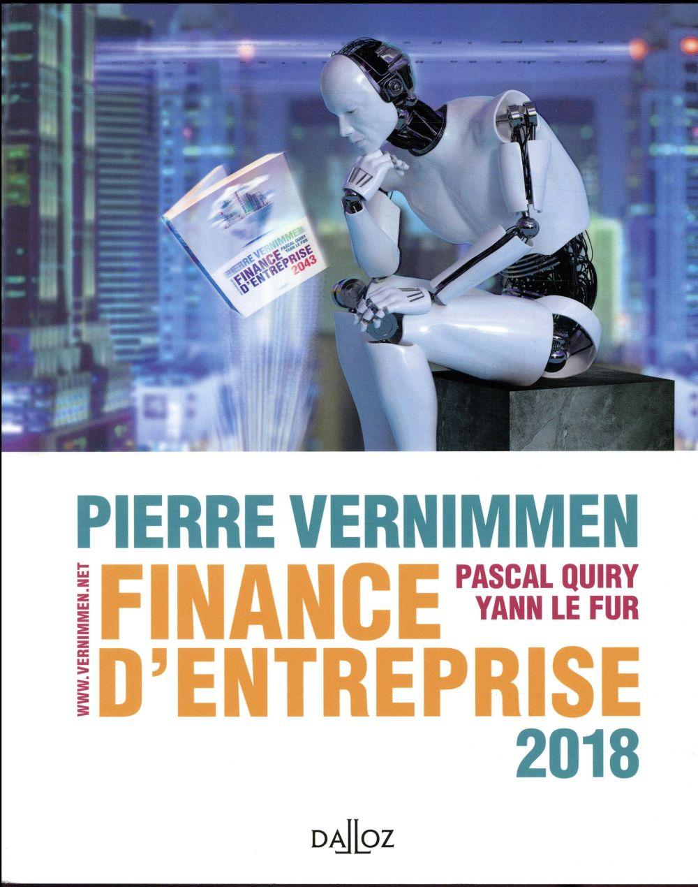 Vernimmen Pierre - FINANCE D'ENTREPRISE 2018 - 16E ED.