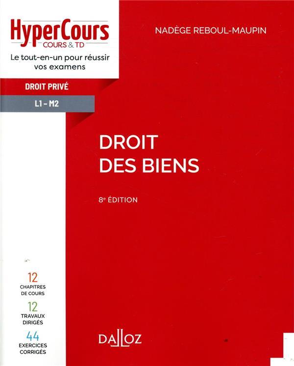 DROIT DES BIENS - 8ED  HYPERCO