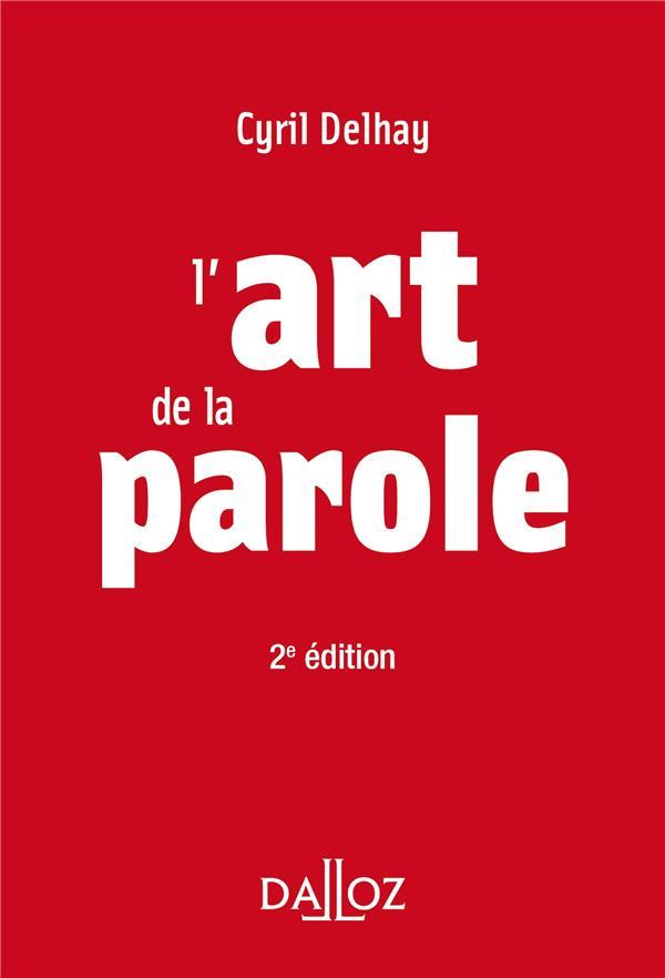 L'ART DE LA PAROLE