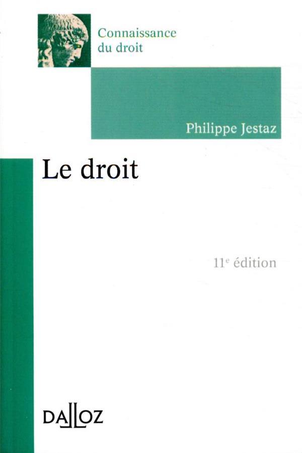 LE DROIT (11E EDITION)