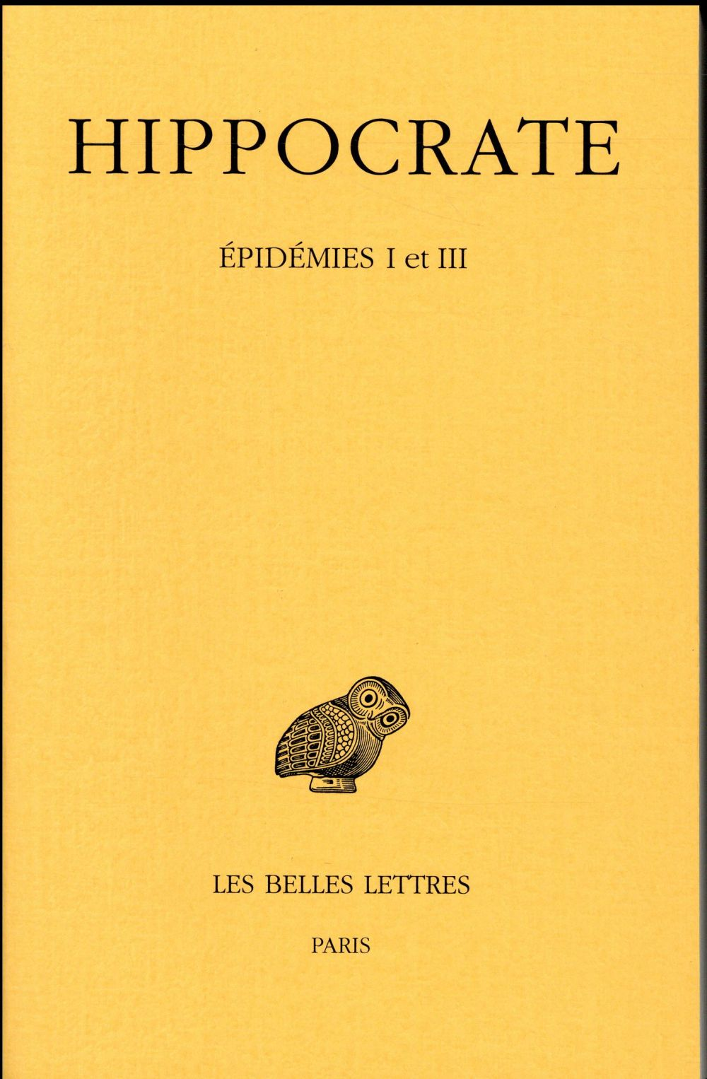 OEUVRES COMPLETES  -  EPIDEMIES V ET VII
