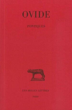 PONTIQUES OVIDE BELLES LETTRES