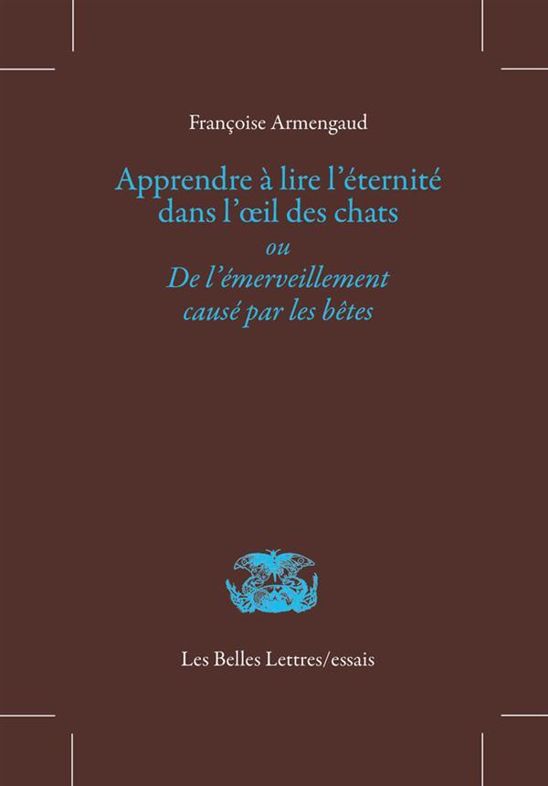 APPRENDRE A LIRE L-ETERNITE DA ARMENGAUD/FONTENAY Belles lettres