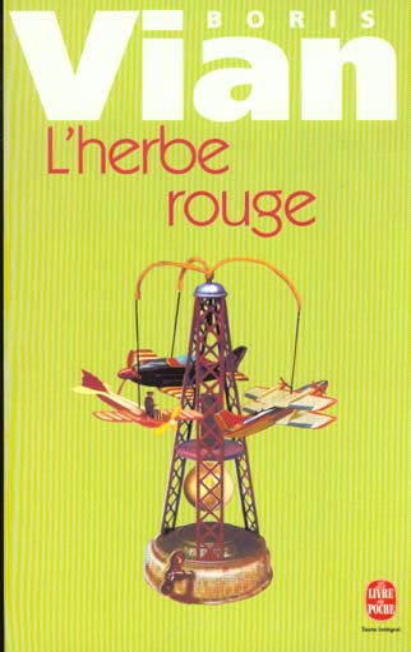 L'HERBE ROUGE VIAN BORIS LGF/Livre de Poche