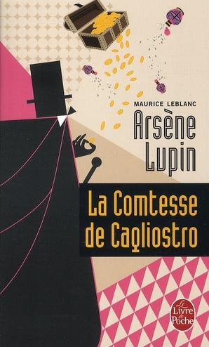 LA COMTESSE DE CAGLIOSTRO LEBLANC MAURICE LGF/Livre de Poche
