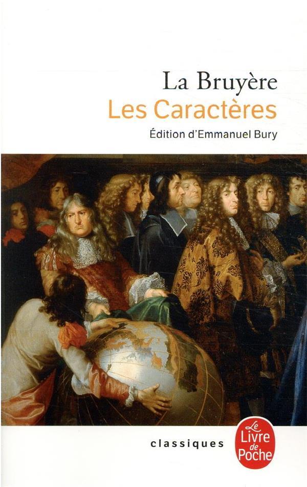 LES CARACTERES LA BRUYERE LGF/Livre de Poche