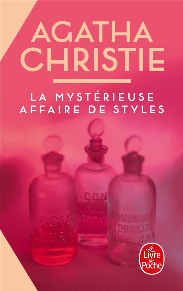 LA MYSTERIEUSE AFFAIRE DE STYLES