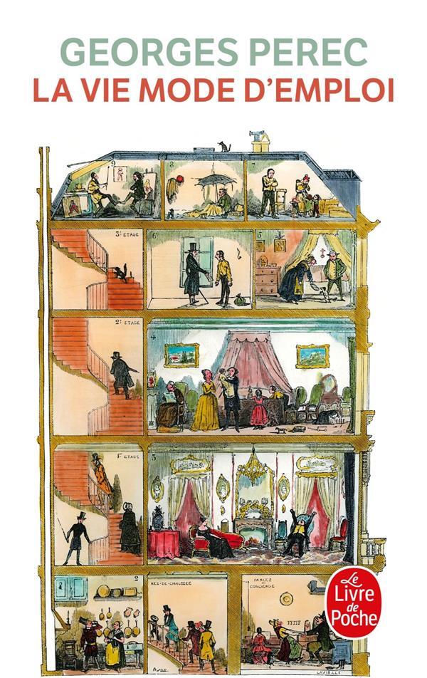 LA VIE MODE D'EMPLOI PEREC GEORGES LGF/Livre de Poche