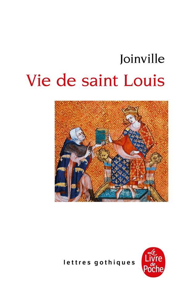 LA VIE DE SAINT LOUIS JOINVILLE JEAN DE LGF/Livre de Poche