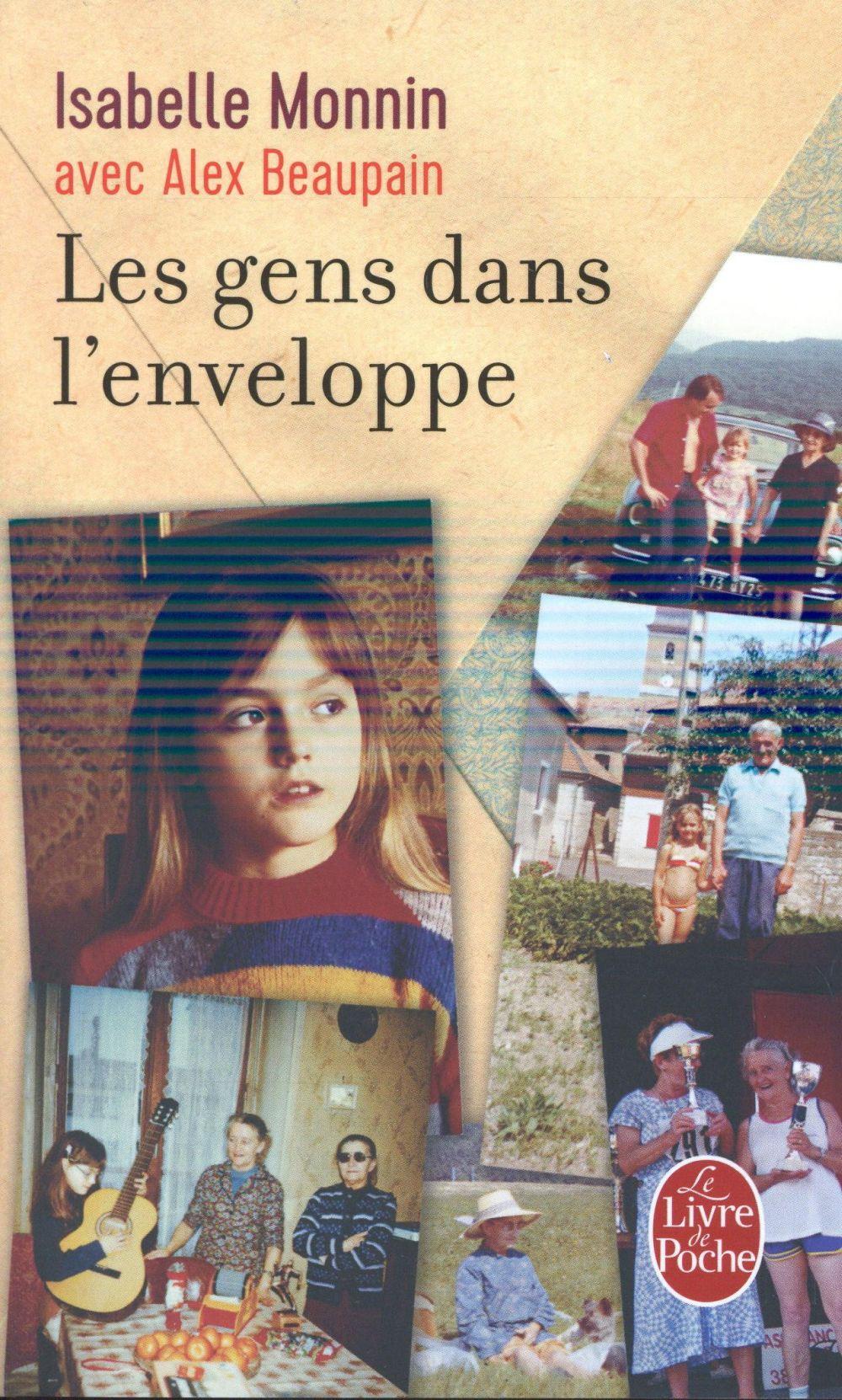 LES GENS DANS L'ENVELOPPE Monnin Isabelle Le Livre de poche