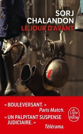 LE JOUR D'AVANT CHALANDON SORJ NC