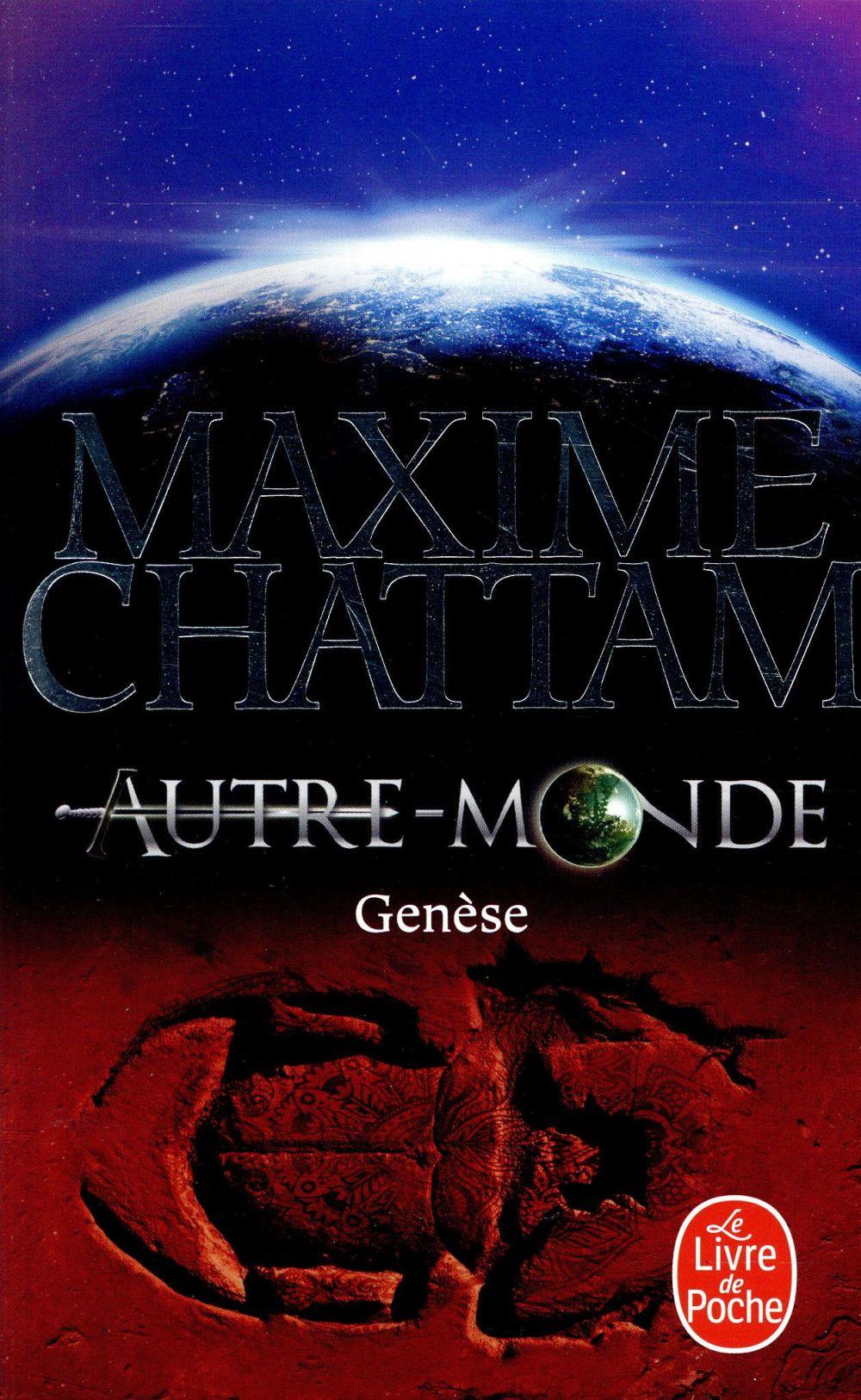 GENESE (AUTRE-MONDE, TOME 7) CHATTAM MAXIME Lgdj