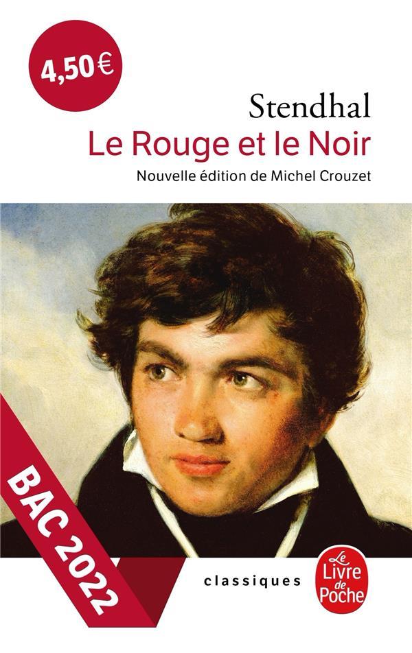 LE ROUGE ET LE NOIR STENDHAL  LGF/Livre de Poche